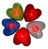 Plasitc heart shape LED traffic warning Light