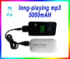 2012 new model of outdoor MP3 player Long-playing