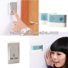 Wireless Digital Doorbell Remote Control 2PCS Chime Receiver Jingle Bell LED Indicator New