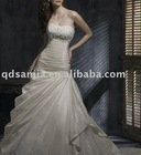 HTB02.Custom-Made bridal wedding dress,wedding gown,bridal gown ,bridal veil