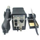 BEST-898A 2 in 1 intelligent leadfree hot air gun with helical wind+ solder station- desolder station + solder iron
