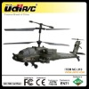 Hot 2012 Udirc U10 2.4Ghz AH-64 Apache 3ch RC Helicopter Toy with Gyro