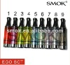 Newest!! Smoktech 2.5ml Ego Single Coil Tank