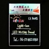 LED hand writing board with light box