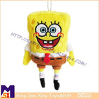 10cm SpongeBob mobile phone hanging accessories
