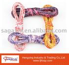 Heat-transferred printing shoelace