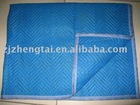 non-woven moving blanket,newly designed rectangle moving blanket, dark blue moving pad