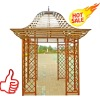 New Design Garden Gazebo, Steel Pavilion, Metal Pergola, Garden Arbour
