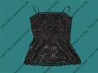 Black Battenburg Lace Dress