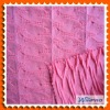 Jacquard knitting fabric for sweaters