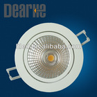 Shenzhen factory offer the saving enery environment COB led ceiling downlight