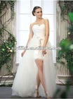 New Design Front Short and Back Long Wedding Dresses Online
