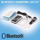 LCM screen solar charging bluetooth car kit