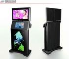 2011 new three LCD screen display kiosk
