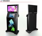 2011 new three LCD screen display kiosk