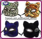 Good-looking Wholesale Halloween Party Mask/Cat Face Mask