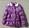 Fashion girl's winter jacket,down jacket, new design.