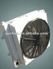 aluminium plate fin hydraulic oil cooler for wheel crane