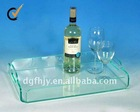 Best selling! Fashionable Acrylic Wine Serving Tray Rack