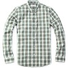 Mens leisure shirts plaids long sleeve