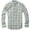 Mens leisure shirts plaids long sleeve