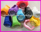 Promotional jelly digital watch
