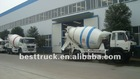 mobile concrete truck mixer specifications
