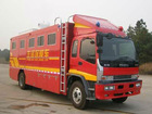 ISUZU 6*4 Form fire engine