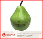 Fruit shape plastic kitchen timer mechanism