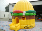 Customized inflatable air castle