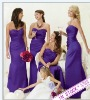 Special Price On Sale Sexy Ready Long Sweetheart Bridesmaid Dress Evening Night Dresses Made in Suzhou