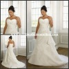 Al-w3837 Best Selling Sweetheart A-line Chiffon Bridal Dress