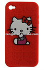Popular Candy Hello Kitty Case for Iphone 4