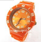 silicone quartz watch,wristband watch,sekio watch