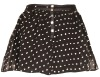 Asos cute dot print chiffon mini skirt