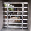Glass Stainless steel gate-7