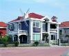 moden light steel villa