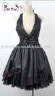 Gothic/Lolita Black Scoop-back Dress LQ-005 From PYONPYON