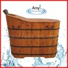 Soaking wood barrel