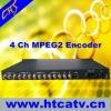 4ch output cable TV Encoder