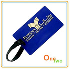Fashion 3D custom soft PVC Luggage Tag