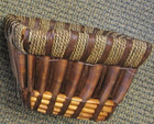 3pcs hand woven willow wicker baskets