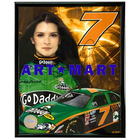 "Danica Patrick Framed Mylar 8""x10"" Photo AMM002"