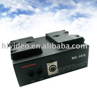 Video camera battery charger