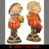 cartoon doll,resin figurines,holiday decoration