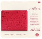 2012 fashion pink PC laptop case for ipad