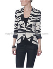Modern print ladies blazer 2013