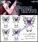 Hot selling Beautiful Butterfly temporary tattoos