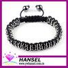 crystal macrame bracelet pave beads designs bracelets