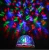 COOL RGB Full Color rotating Crystal RGB mini led stage lamp